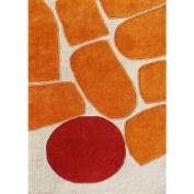 Horizon Home Imports Alliyah Handmade Sand New Zealand Wool Rug (8 x 10)