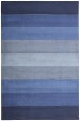 St. Croix Aspect Blue Stripes Rug Rug Size