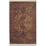 Karastan - Original Karastan (700) Multicolor Panel Kirman 2'15cm x 4'7.6cm Rectangular 717 Area Rug