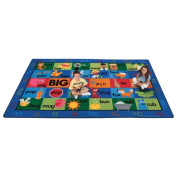 Carpets For Kids 5934 Rhyme Time 8.33 ft. x 13.33 ft. Rectangle Rug