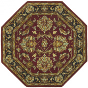 St. Croix Traditions Agra Burgundy Rug Rug Size