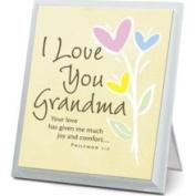 I Love You Grandma Plaque