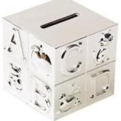 Elegant Baby 1072 Silver Plated ABC Block Bank