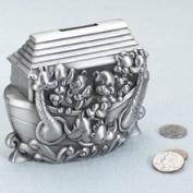 Lillian Rose 24BK720 A Noahs Ark Pewter Bank
