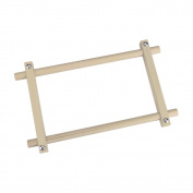 Deluxe Hardwood Scroll Frame 15cm x 12 inch-