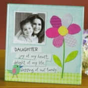 Abbey Press Daughter, Joy of My Heart Glass Photo Frame
