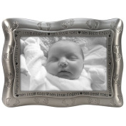 Malden 4x6 Ten Little Fingers - Pewter - Baby Picture Frame