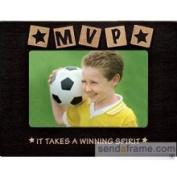 Black MVP Wood Sports Frame by Prinz