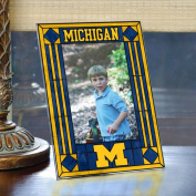 Memory Company Michigan Wolverines Art Glass Frame