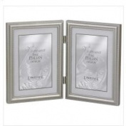 Lawrence Frames Hinged Double Vertical Picture Frame Size