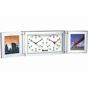 Kirch 2160 Folded Travel Alarm Clock With Photo Frame