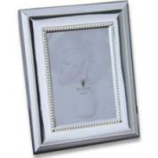 SendAFrame Merrill Beaded Silverplate Frame by Waterford