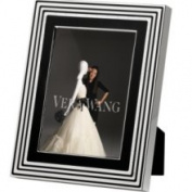 Vera Wang Picture Frame, with Love Noir 5 x 7