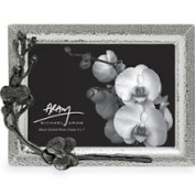 Michael Aram Black Orchid Frame - Silver - Size 5x7