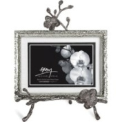 Michael Aram Black Orchid Easel Convertible Frame - Silver - Size 5x7