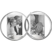 Nambe 5 x 7 Double Forever Frame - Silver