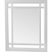 Elite Home Fashions OSW7497 Stripe Wood Wall Mirror