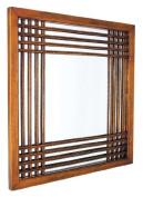 Wayborn Furniture 4824 Burma Wall Mounted Mirror - Brown