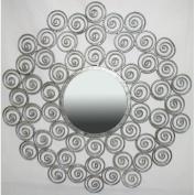 Ashton Sutton Company JC110200 Round Wall Mirror