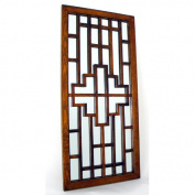 Wayborn Furniture 4817 Onfai Wall Mirror - Brown
