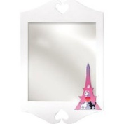 Room Magic Poodles in Paris Wall Mirror - RM10-PP