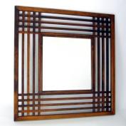 Wayborn Furniture 4820 Brown Plantation Mirror