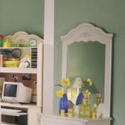 Standard Diana White Wash Panel Mirror 4068