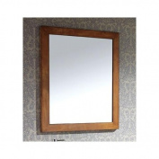Legacy 90cm . x 80cm . Bevelled Edge Mirror in Golden Burl