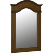 Belle Foret Single 102cm Portrait Mirror in Aged Walnut