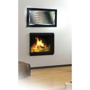 Kenroy 60095 Black Ice Contemporary Rectangular Wall Mirror