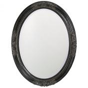 Howard Elliott Queen Ann Mirror with Black Finish