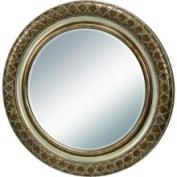Bailey Street 6050395 90cm High Dotted Round Bronze Mirror