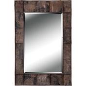 Kenroy Home Jobi Birch Bark Wood Wall Mirror