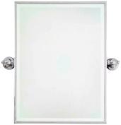 Minka 61cm High Rectangle Chrome Bathroom Wall Mirror