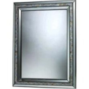 Dimond DM1948 Sardis Mirror in Brushed Steel and Mother of Pearl Shell