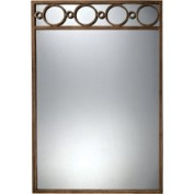 Bailey Street 6050685 Violeto Mirror in Painted Gold