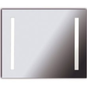 Kenroy Home OS70135 Horus Two-Light LG Silver Contemporary Vanity Mirror (26 x 32)