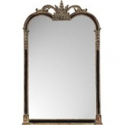 Paragon Black and Gold Napoleon Mirror 8903