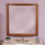 Decolav 9712-MWN Gavin 30 Wall Mirror, Medium Walnut