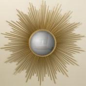 Global Views 9.90325 Sunburst Gold Contemporary Mirror