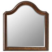 Stanley Furniture Continental Landscape Mirror, Barrel Finish