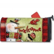 Magnet Works Cold Nose Snowman MailWrap - MAIL07550
