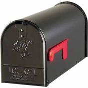 Solar Group Inc Black Elite Premium Steel Mailbox E11B