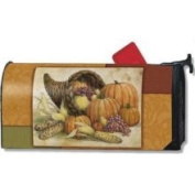 Magnet Works Horn of Plenty Autumn Magnetic Mailbox Cover