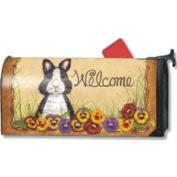 MagnetWorks Pansy Patch Mailbox Cover