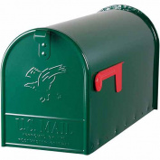 Solar Group Inc Large Green Rural Size Mailbox E16G