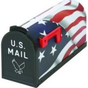 Flambeau Prod. T-R 6530US U.S. Flag Mailbox-#1 US FLAG POLY MAILBOX