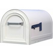 Solar Group Inc Large White Wyngate Rural Mailbox WM16KW01