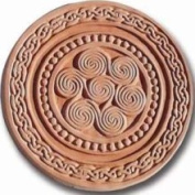 Garden Moulds X-CRD8006 Celtic Round Stepping Stone Mould- Pack of 2