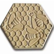 Garden Moulds X-BEES8002 Bees Stepping Stone Mould- Pack of 2